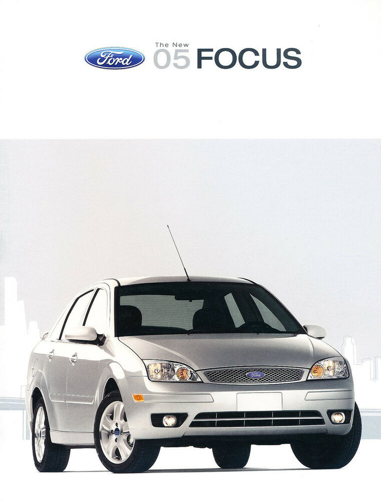 2005 ford focus zx3 zx5 zx4 zxw st 22 page original car. Black Bedroom Furniture Sets. Home Design Ideas