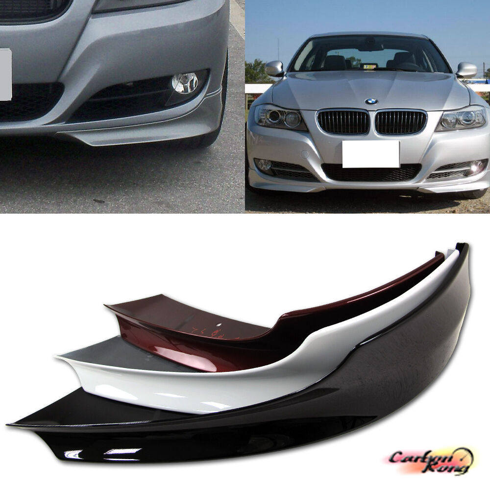 Painted Bmw E90 3 Series Lci Sedan Oe Type Front Splitter Spoiler 2009 2011 335d Ebay
