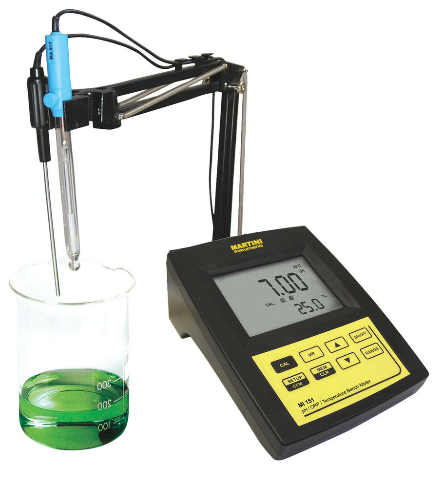 lab and ph Magnetic stirrer so that you can move it up and down to insert it into solutions whose ph you want to measure—as shown in lab by the  lab 6 titration curves.
