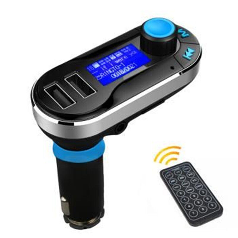 dual usb car charger aux fm transmitter mp3 music player. Black Bedroom Furniture Sets. Home Design Ideas