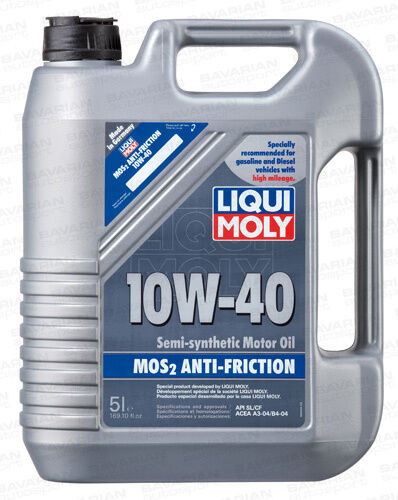 Liqui Moly Mos2 Semi Synthetic Anti Friction Super Motor