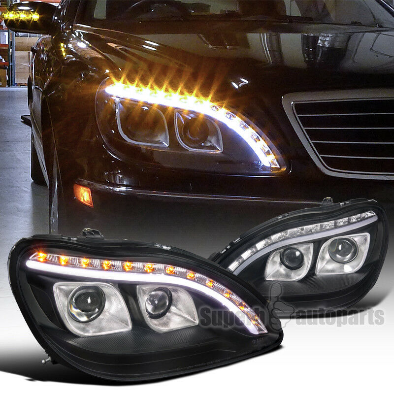 1998 2006 mercedes benz w220 s320 s420 projector led for Mercedes benz lights