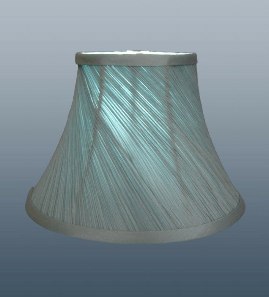 Black String Shade Chandelier 496 P Jpg: Twisted Pleat Soft Shade Duck Egg Blue Fully Lined Ceiling
