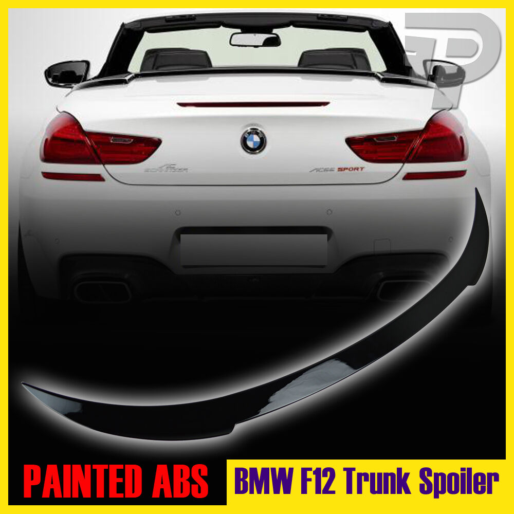 PAINTED BMW 6 SERIES F12 CONVERTIBLE V-TYPE REAR TRUNK