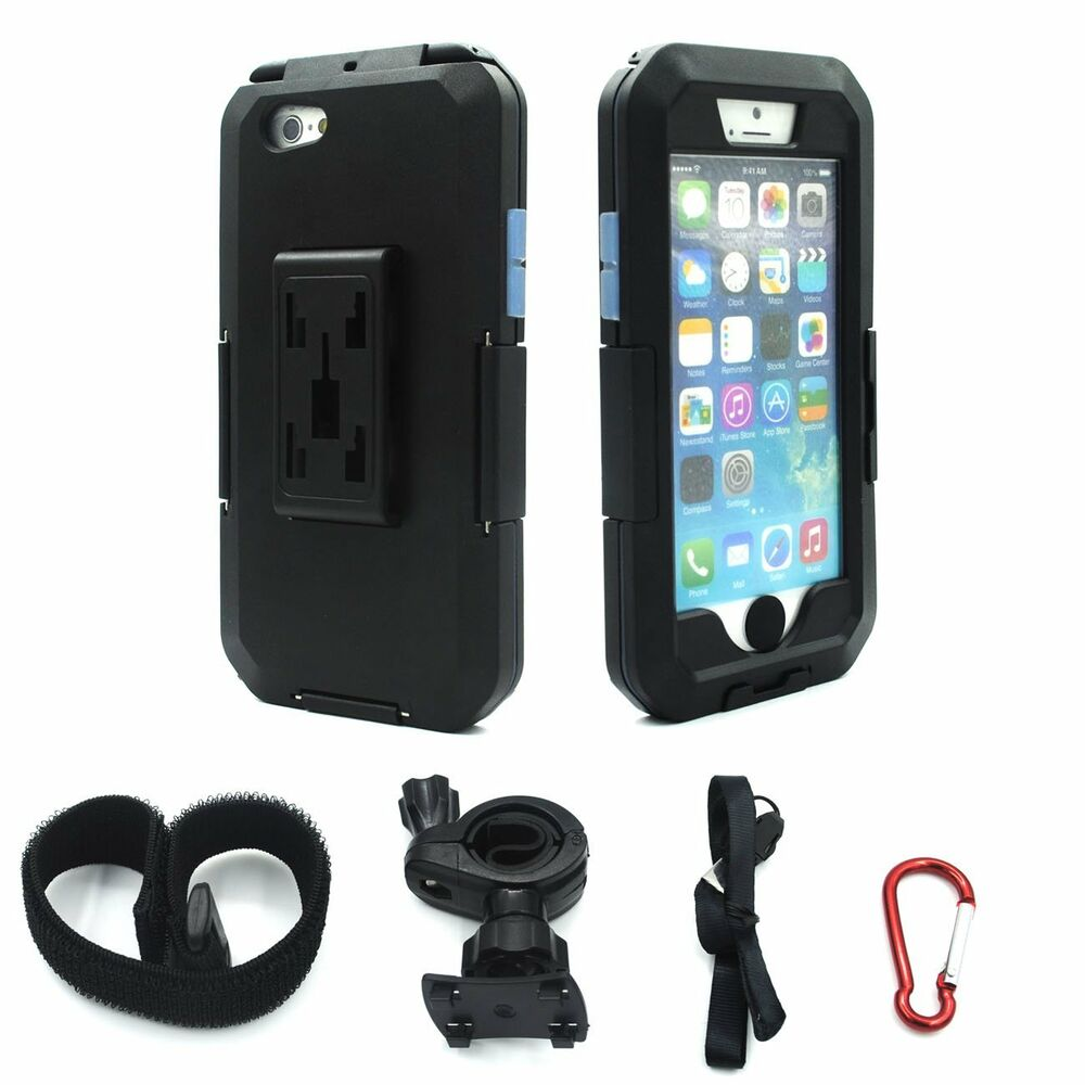 IPX8 Waterproof Tough Case Motorcycle Bike Handlebar Mount ...