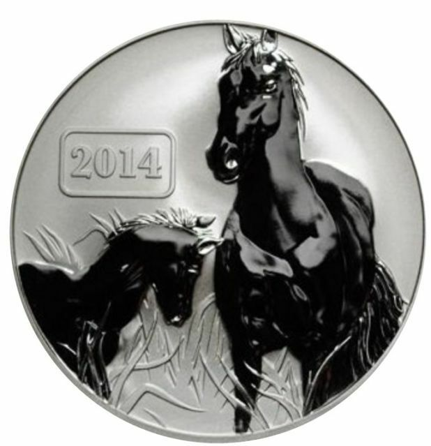 2014 Tokelau Large 1 oz 999 Silver $5 Year of The Horse Lunar  eBay