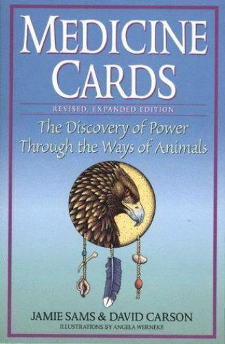 Medicine Cards by Jamie Sams and David Carson w/ Full Set of Animal Cards - C6