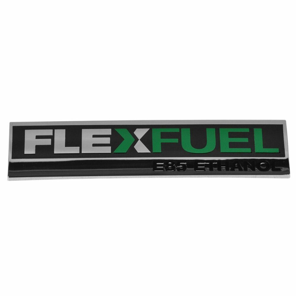 oem flex fuel e85 ethanol emblem rear for chevy gmc pickup suv van new 20903652 ebay. Black Bedroom Furniture Sets. Home Design Ideas