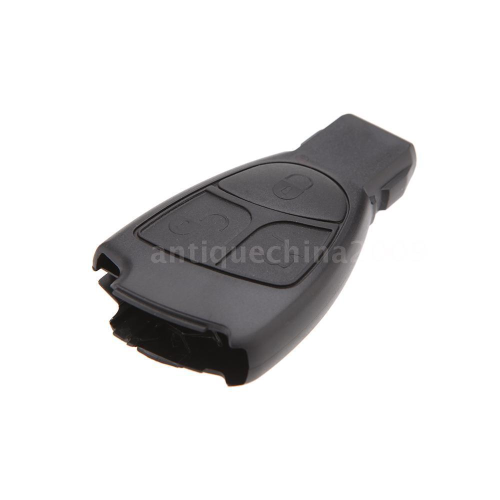 Replacement for mercedes benz 3 buttons smart remote key for Replacement key mercedes benz