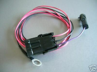 tpi tbi 3 wire heated oxygen o2 sensor wiring harness adapter ebay