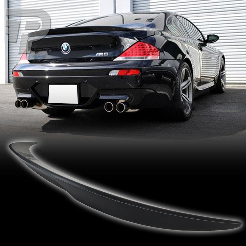 BMW 6-SERIES E63 COUPE V TYPE TRUNK BOOT SPOILER M6 04-08