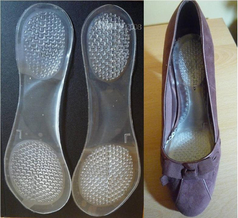 high heel orthotic arch support cushion flatfeet shoes 3 4