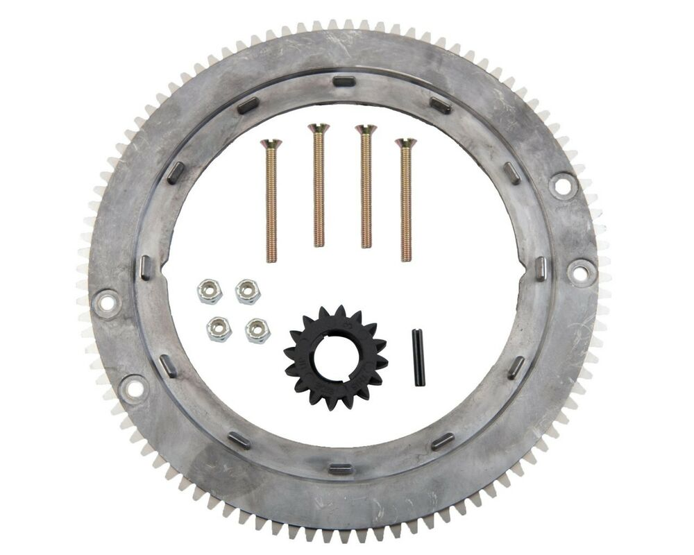 Lawn Tractor Gears : Starter flywheel ring gear kit westwood countax rideon