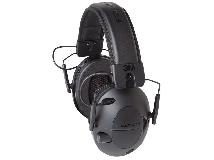 New Peltor 3M Tactical 100 Electronic Hearing Protection Earmuff TAC100-OTH   eBay
