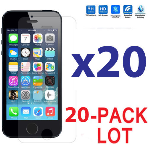cheap iphone 5s ebay 20x lot tempered glass screen protector for 8510