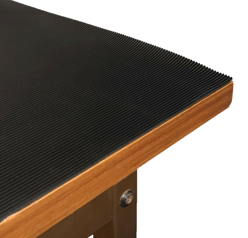 Bench Amp Worktop Protector Ribbed Rubber Matting 1 2m Wide