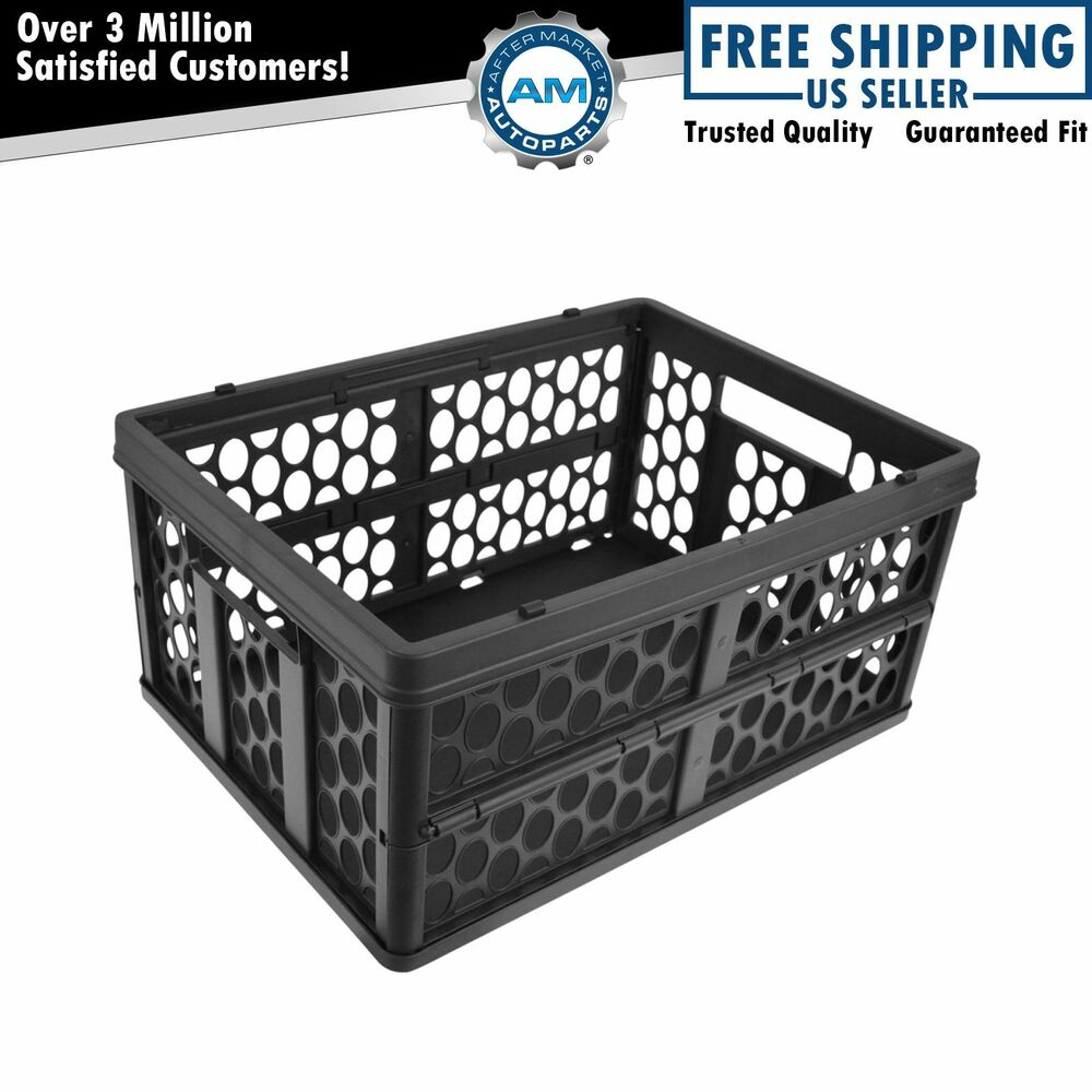 Oem 66470995 collapsible storage bin crate basket cargo for Mercedes benz car trunk organizer