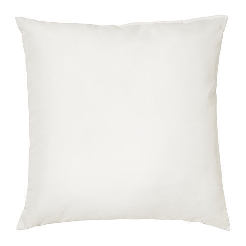 ikea inner inner cushion white decor pillow cushion filling insert ebay. Black Bedroom Furniture Sets. Home Design Ideas