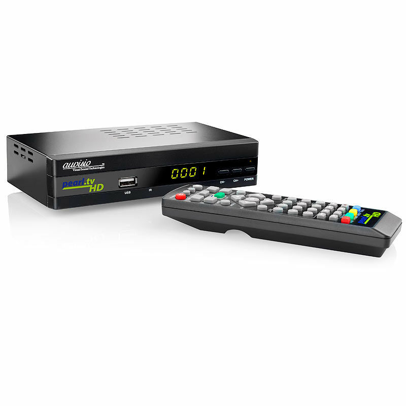 auvisio digitaler hd sat receiver dsr 395u se hdmi scart 4022107194501 ebay. Black Bedroom Furniture Sets. Home Design Ideas
