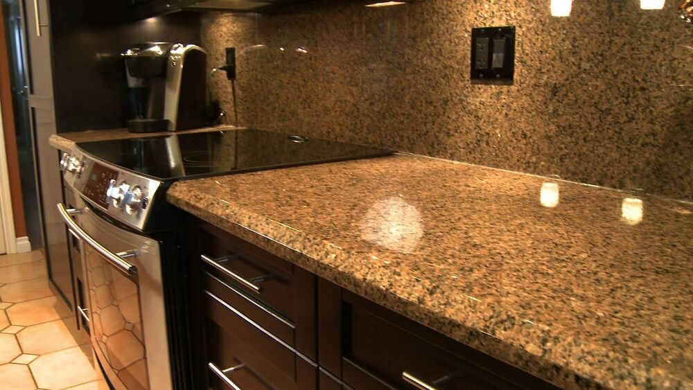 Instant Vinyl Granite : Stick on instant vinly counter top faux fake granite film