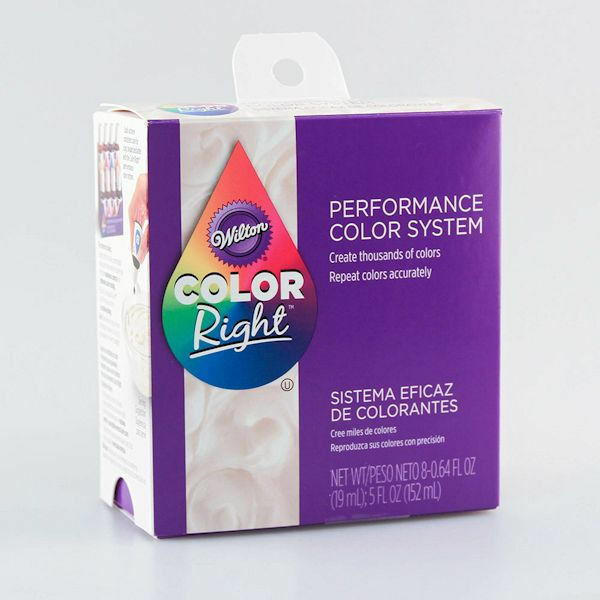Color Right Performance Food Color System From Wilton 6200