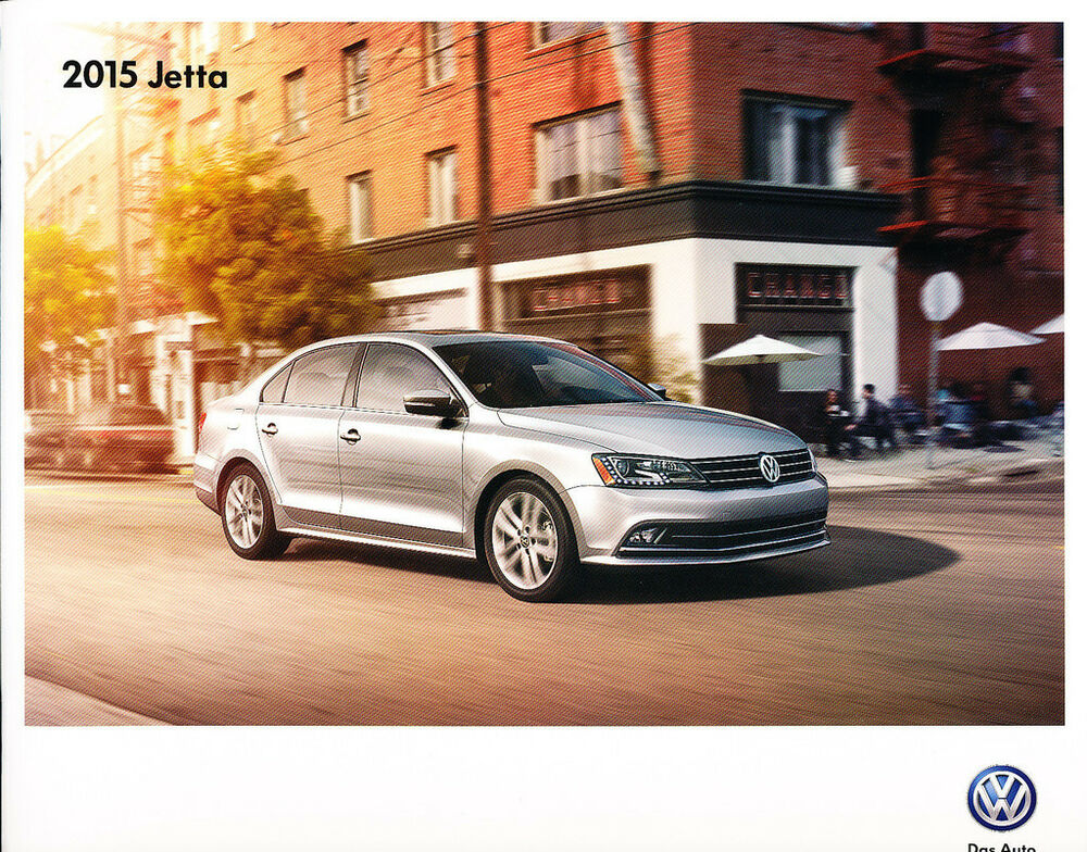 2015 vw volkswagen jetta 20 page original car sales brochure catalog gli tdi ebay. Black Bedroom Furniture Sets. Home Design Ideas
