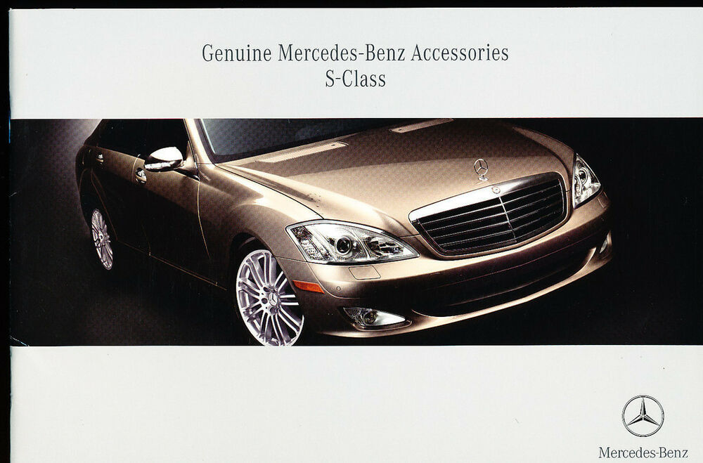 2006 mercedes benz s class original car accessories for Mercedes benz s550 accessories