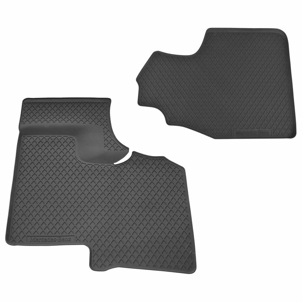 Oem Molded Rubber Floor Mat All Weather Front Set For