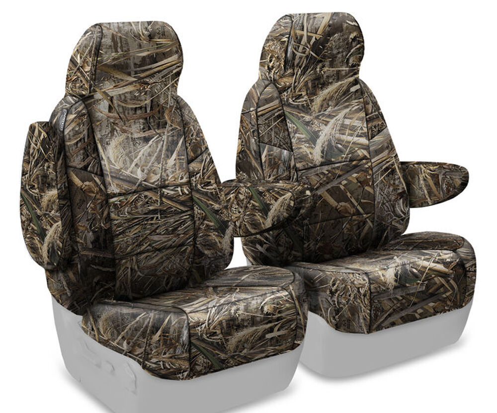 new full printed realtree max 5 camo camouflage seat covers 5102039 28 ebay. Black Bedroom Furniture Sets. Home Design Ideas