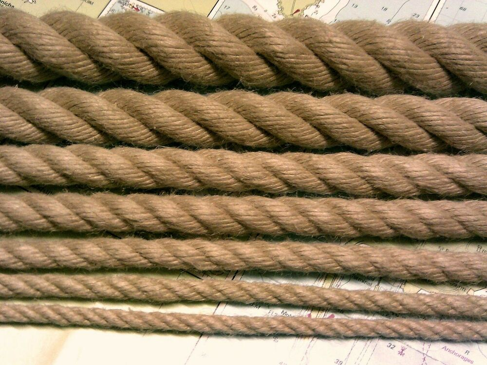 Rope synthetic hemp polyhemp hempex for decking for Garden decking with rope