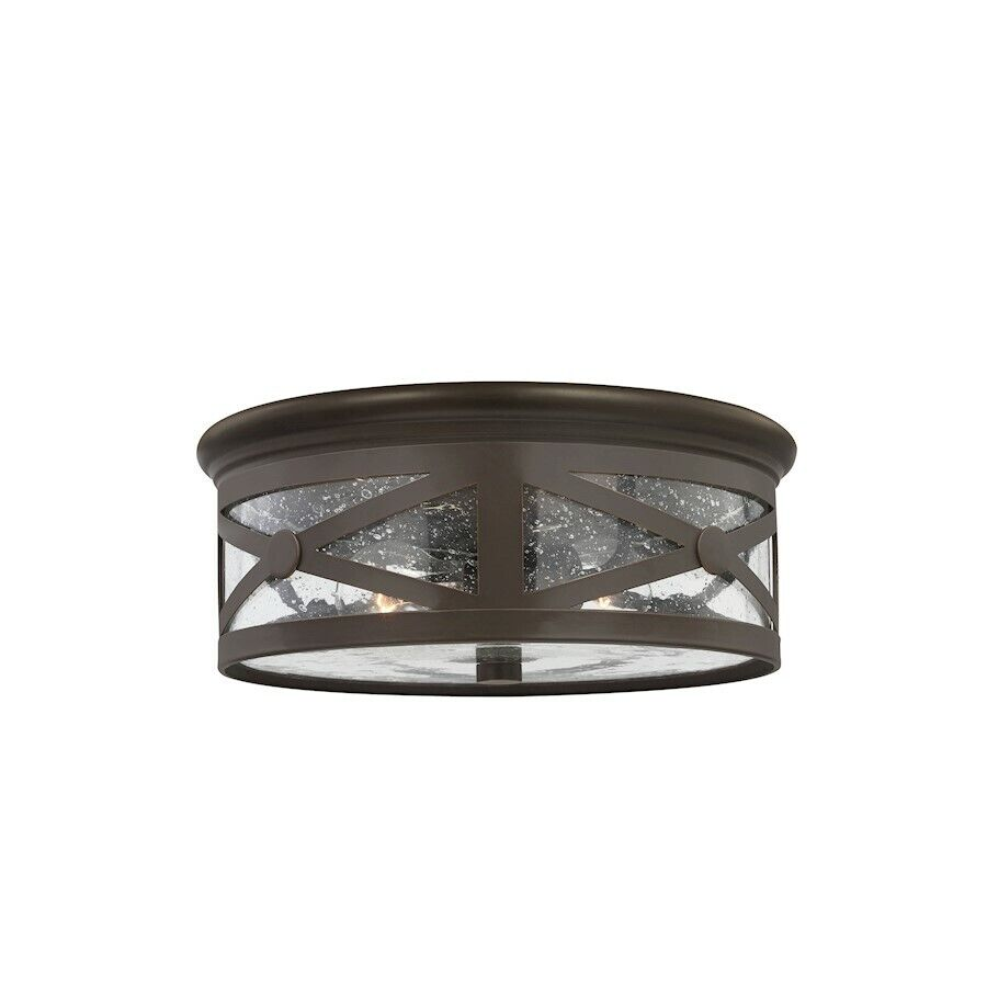 Sea gull lighting lakeview two light outdoor ceiling flush for Outdoor ceiling lights