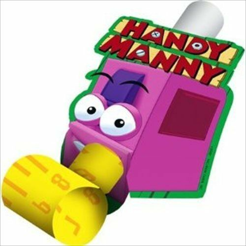Handy manny blowouts 8 birthday party supplies favors for Handy manny decorations