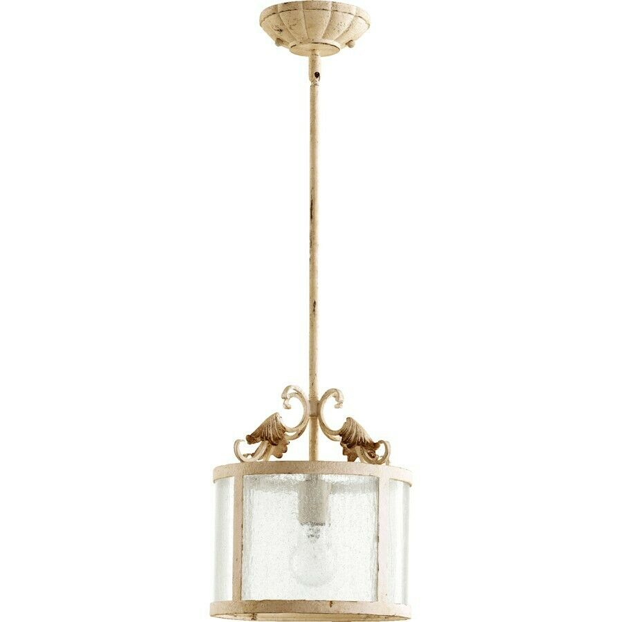 quorum florence 1 light pendant persian white 3037 70