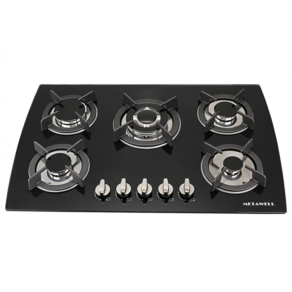 Black Countertop Stove :
