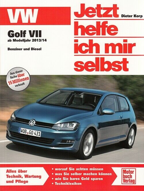 vw golf 7 reparaturanleitung jetzt helfe ich mir selbst reparatur handbuch neu ebay. Black Bedroom Furniture Sets. Home Design Ideas