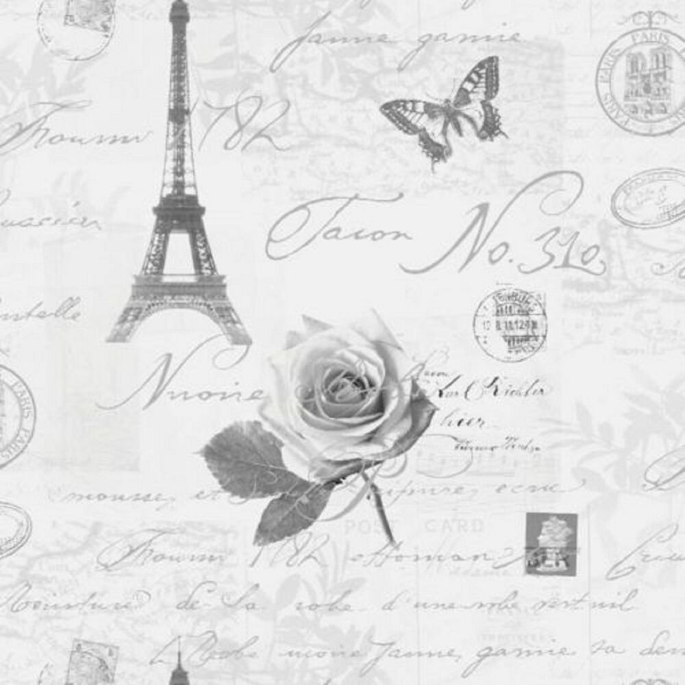 Holden Calligraphy Paris Postcards Travel Eifell Tower