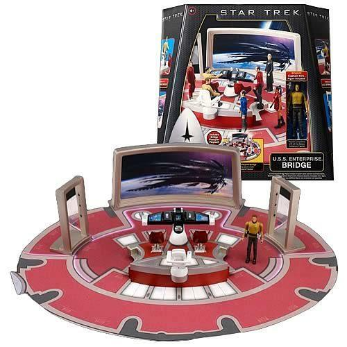 star trek enterprise bridge replica play set capt kirk