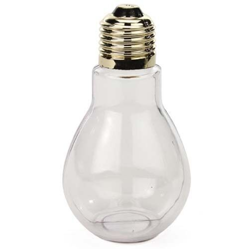24 clear plastic fillable light bulbs 4 inch great for for Clear christmas bulbs for crafting