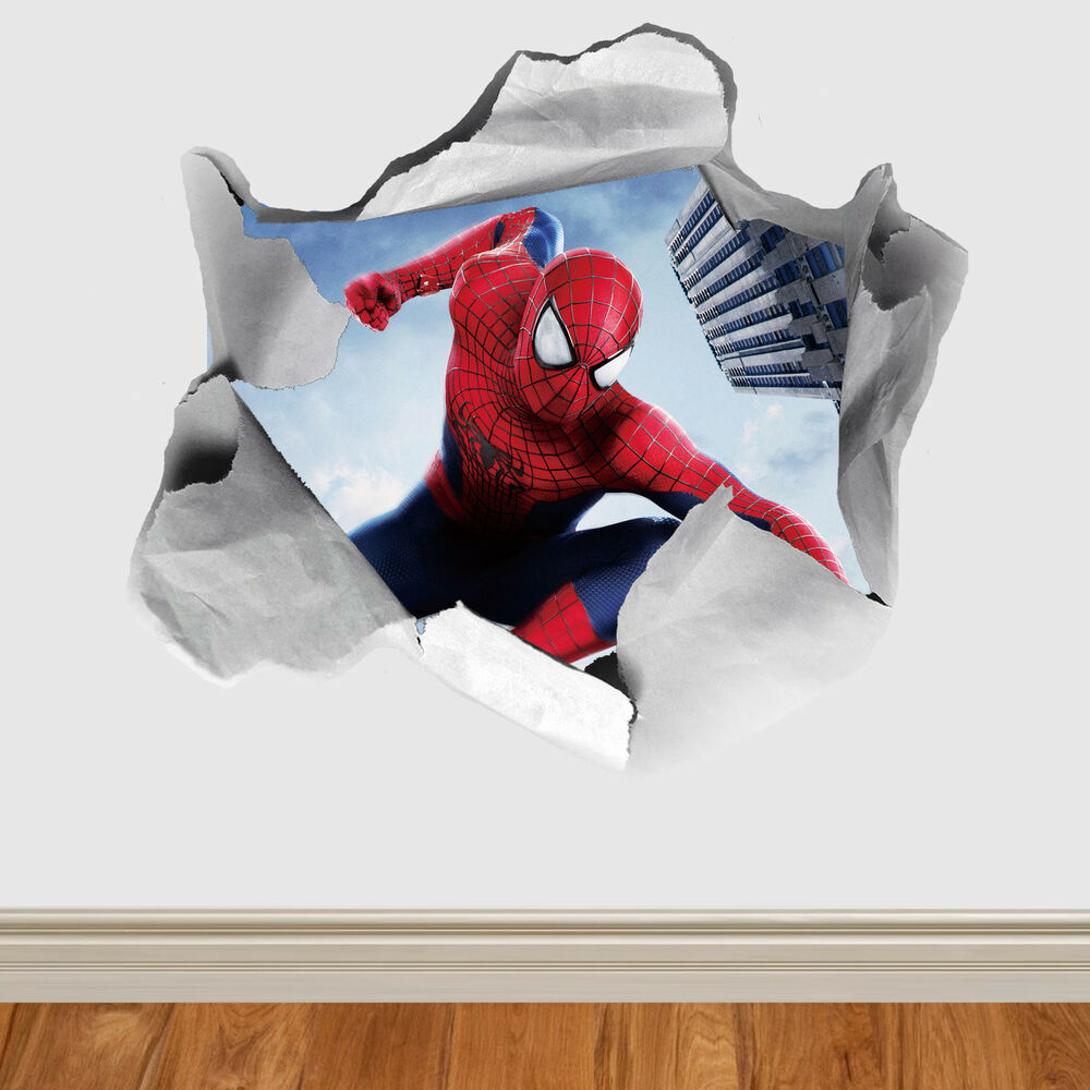 Marvel Disney Various Design Paper Rip Childrens Wall