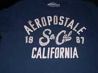 AEROPOSTALE 1987 SO CAL California  T-SHIRT BLUE S/S ADULT L awesome shirt