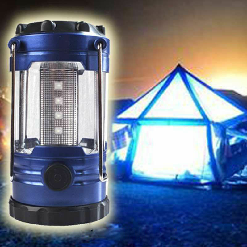 12 led portable camping lantern torch light waterproof night tent lamp ebay. Black Bedroom Furniture Sets. Home Design Ideas
