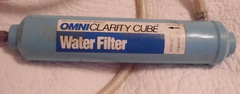 Omni Quot Clarity Cube Quot Water Filter For Refrigerator Water