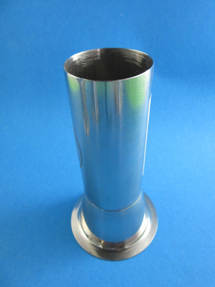 Premium 22 X 2 Quot Stainless Steel Meat Grinder Tube For Freezer Bag Stuffing Ebay