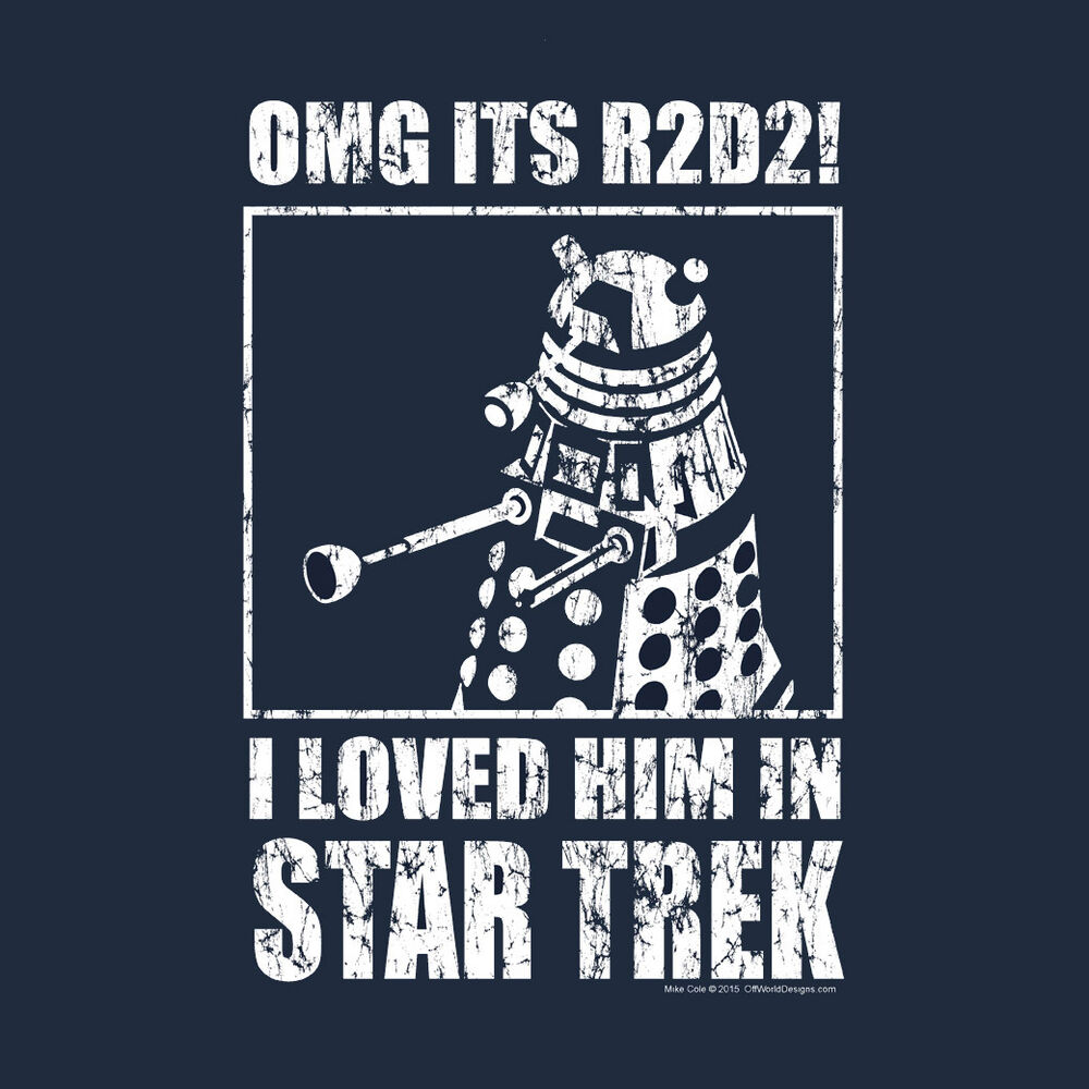 New T-shirt Men's OMG Loved Him Science Fiction Series