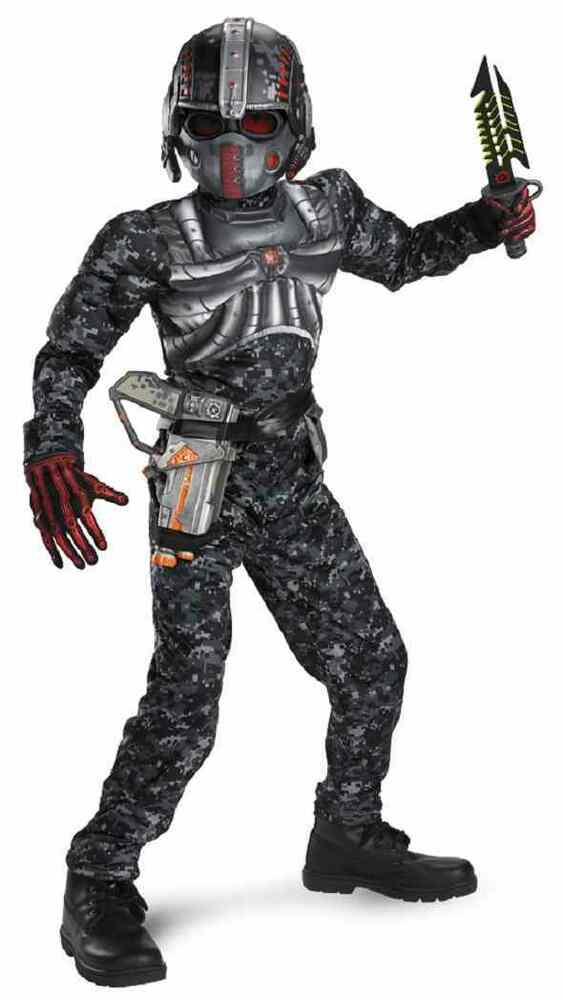 Recon Commando Black Ops Camo Military Fancy Dress Up Halloween Child Costume | eBay