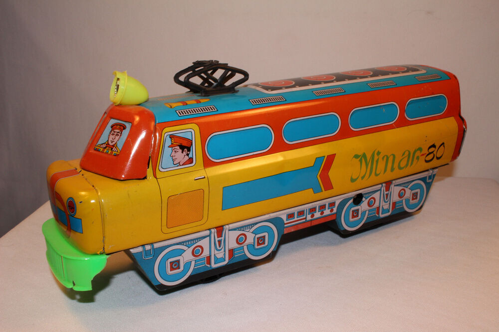 Toys That Were Made In The 1970 : S hind toys industries hti toy company large tin