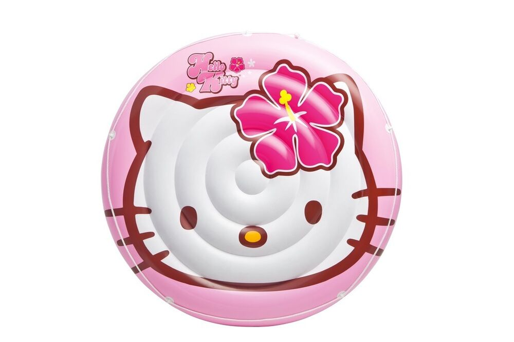 Intex Hello Kitty Small Island Floating Pool Lounge Raft Tube Ebay
