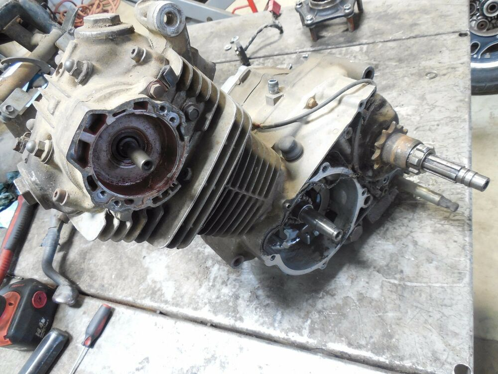 honda atce big red  parts engine motor assembly complete running   ebay