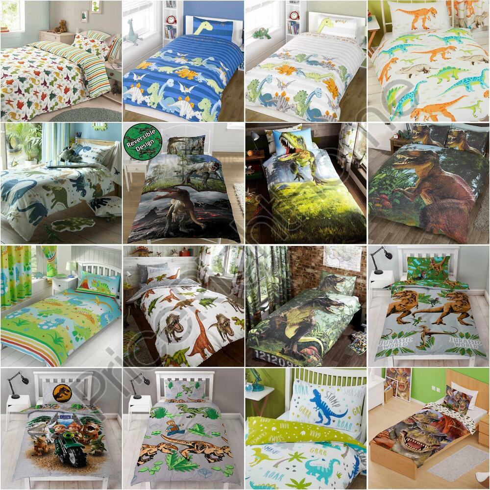 bed sets for boys dinosaur design single amp duvet cover sets boys 14152