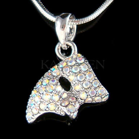 W Swarovski Crystal Aurora Borealis Phantom Of The Opera